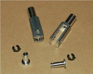 Intairo M3 Aluminium Clevis (Pkt 2) - Suit M3 Push Rod