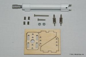 JL Pneumatik-Zylinder: 50mm Hub, 8mm Durchmesser