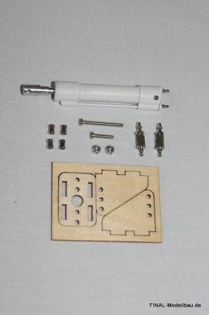JL Pneumatik-Zylinder: 35mm Hub, 8mm Durchmesser