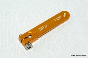 Hochlast Servoarm (einseitig) für JR (23 Zähne) 43mm