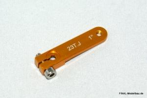 Hochlast Servoarm (einseitig) für JR (23 Zähne) 37mm