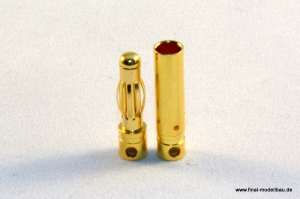 4mm Goldstecker (10 Paar)