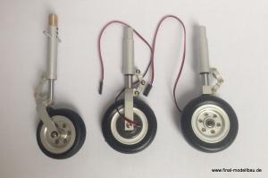 JTM Fahrwerksbeine (gerade) VIPER90 mit E-Bremse