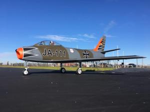 Jetlegend F-86 SABRE 1/5.8 PNP - GERMAN AIRFORCE