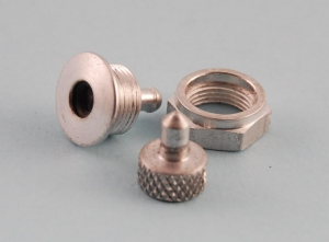 High Flow 6mm Fuselage Vent Fitting with Blanking Plug- 4mm Barb