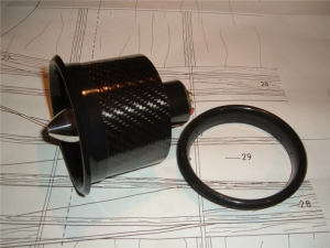 Einlasslippe für JETFAN-90 und JETFAN-90-V2