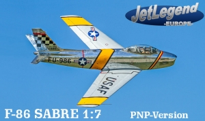 Jetlegend F86 SABRE 1/7