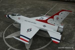 Jetlegend F16 1/6 PNP-Version THUNDERBIRD
