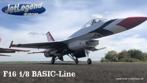 Jetlegend F16 1/8 Basic-Line