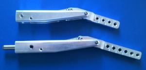 Nachläufer-Fahrwerksbeine (Paar) 14mm (verschiedene Größen zur Auswahl)