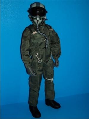 SCALE Full-Body Jet Pilot 1/6 GRÜN normal