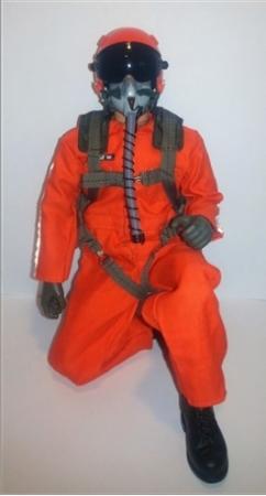 SCALE Full-Body Jet Pilot 1/6 ORANGE