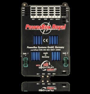 PowerBox Royal Spektrum, Sensorschalter