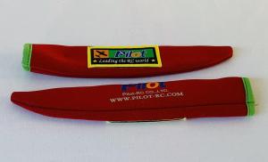 Pilot-RC Propellerschutz (2 Stück) Rot in verschiedenen Größen