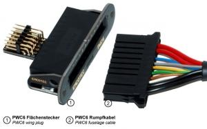 PWC6 PowerWingConnector für 6 Servos