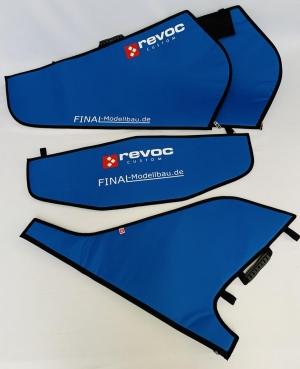 REVOC Flächenschutztaschen Set JL L39 Standard NAVY