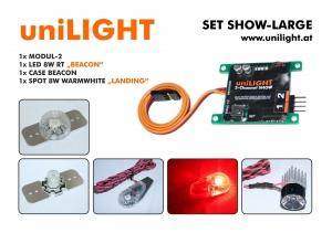 SHOW-L Beleuchtungsset 24mm