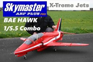 SKYMASTER X-Treme Jets BAE HAWK 1/5.5 ARF PLUS - Farbe: BH452