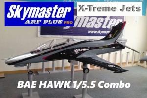 SKYMASTER X-Treme Jets BAE HAWK 1/5.5 ARF PLUS - Farbe: AH120