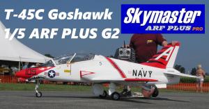 SKYMASTER T-45C Goshawk 1/5 ARF PLUS G2 - Farbe: T4501