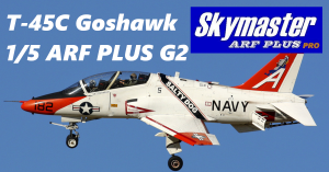 SKYMASTER T-45C Goshawk 1/5 ARF PLUS G2 - Farbe: T4506