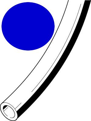 Kunststoffschlauch 3x0,5 blau