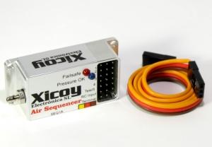 Sequencer und Druck-Failsafe Kontroller für Pneumatik-Fahrwerke