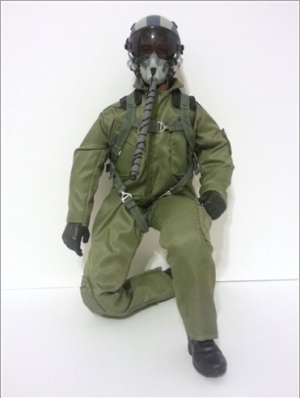 SCALE Full-Body Jet Pilot 1/4 GRÜN - normal