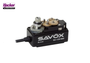 SAVÖX SC-1251MG Black Edition Servo