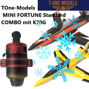 T1 Mini Fortune WINTER Combo mit Kingtech K70G