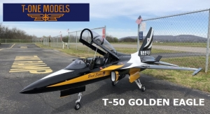 T-OneModel T-50 Golden Eagle 1/5 ARF + kompletten Upgrade