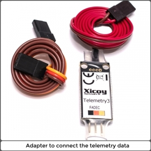 Telemetrie Adapter JR/HOTT/ FUTABA/ JETI/ MULTIPLEX