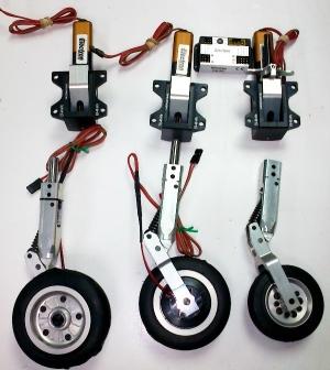 Elektr. Fahrwerk-Set XCALIBUR von ELECTRON mit RB45