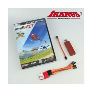 Komplettset: aeroflyRC7 ULTIMATE mit USB-Interface und SLC für das kabellose Fliegen