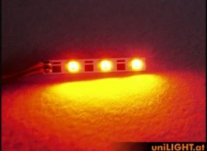 5mm Leuchtbalken, 3Wx2 rot