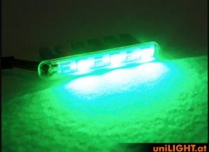 5mm Leuchtbalken, 3Wx2 grün