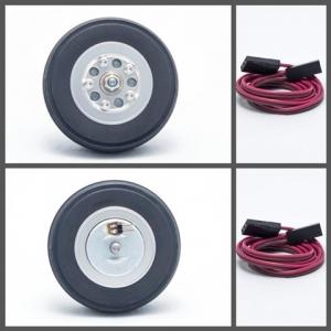 Hauptfahrwerk-Räder 65mm mit elektr. Bremse