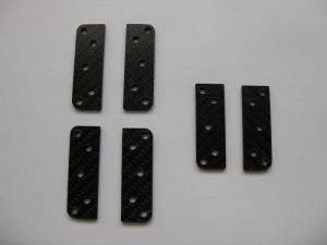 JSM Xcalibur PLUS CFK-Platten für Electron Fahrwerk