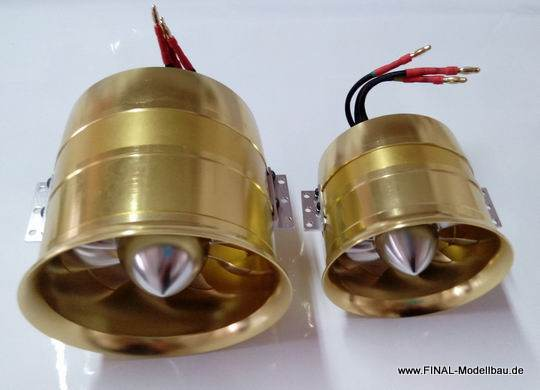 JTM 90mm EDF Set 1470kV ALU-Version