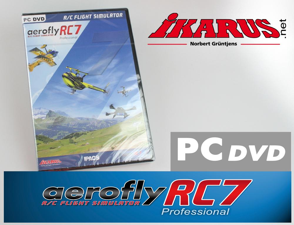 aerofly RC7 PROFESSIONAL-Version (DVD für Windows)