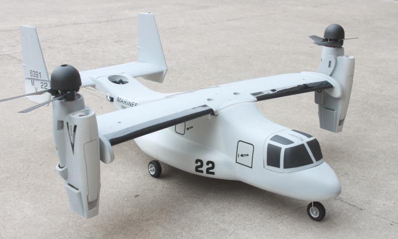 VTOL V-22 Osprey, Farbe: Tactical Grey MARINES