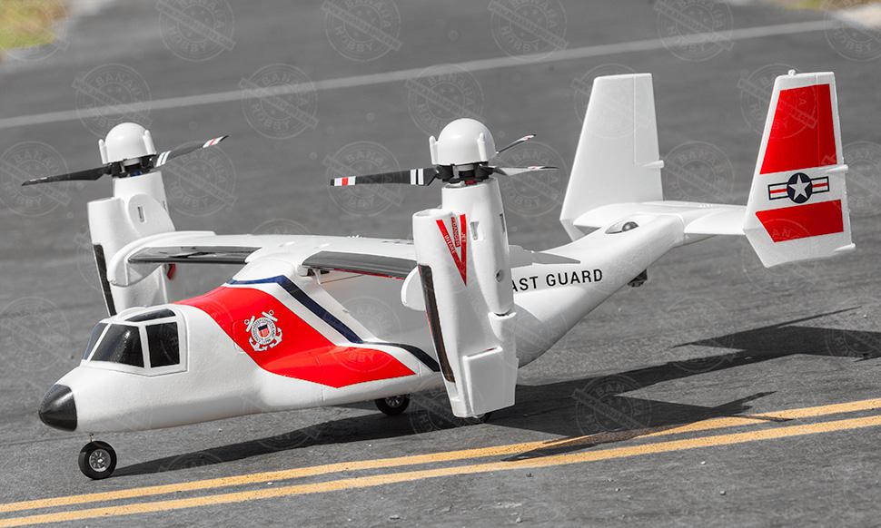 VTOL V-22 Osprey, Farbe: COAST GUARD