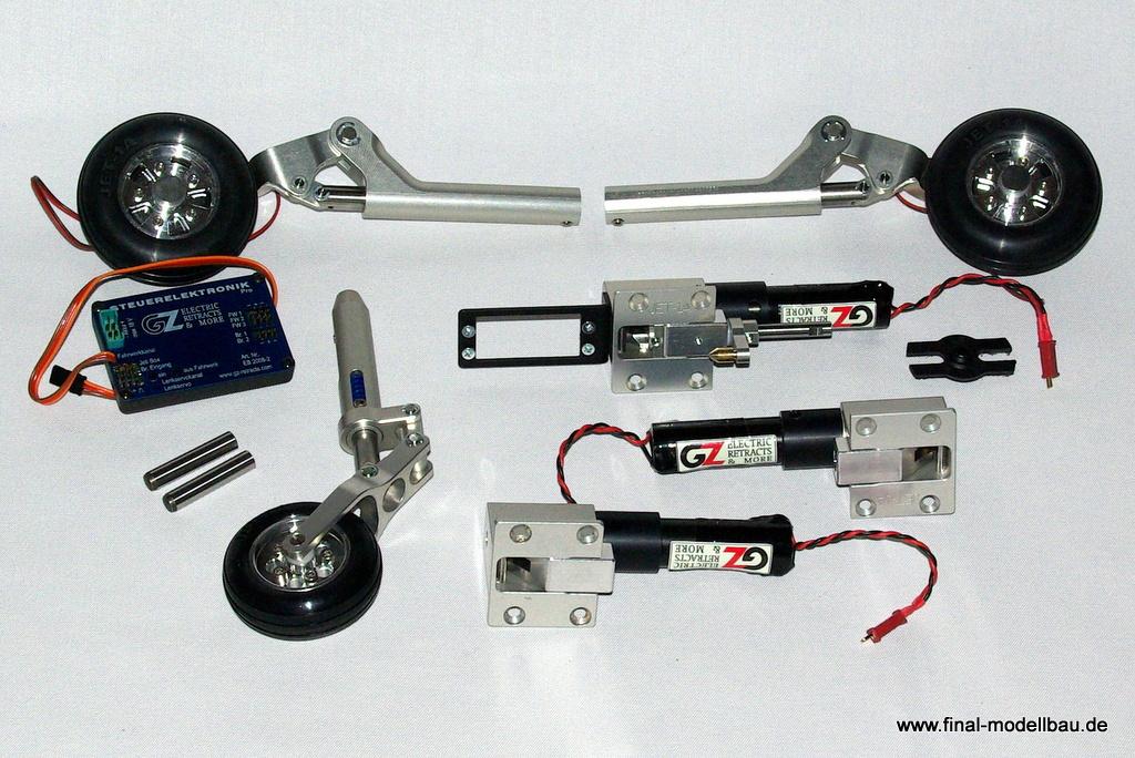 GRYPHON JET-1A elektr. Fahrwerk-Set
