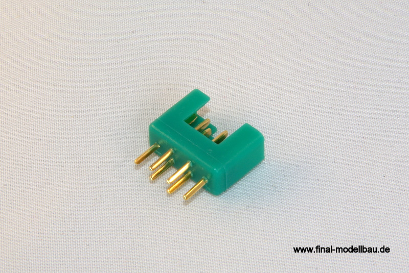 MPX Stecker + Buchse Hochstrom (5 Paar)