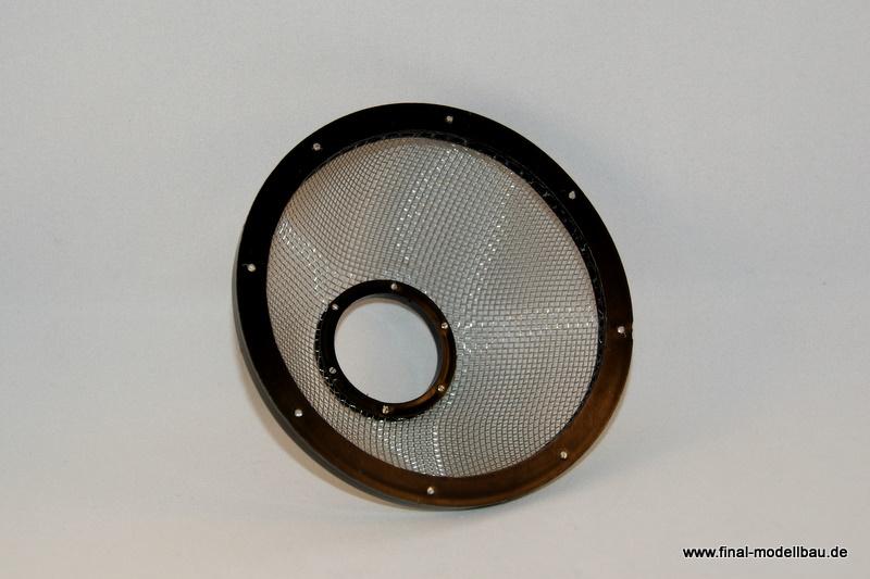Turbineneinlass-Schutzsieb (groß) schwarz