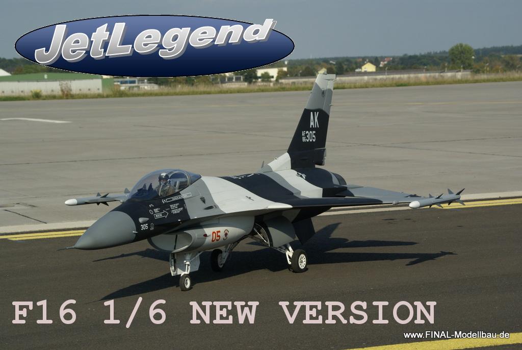 Jetlegend F-16C 1/6 Fighting Falcon