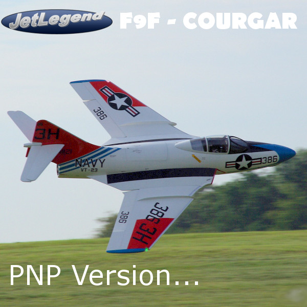 Jetlegend F9F COUGAR 1/5.8 PNP Version Farbe 03