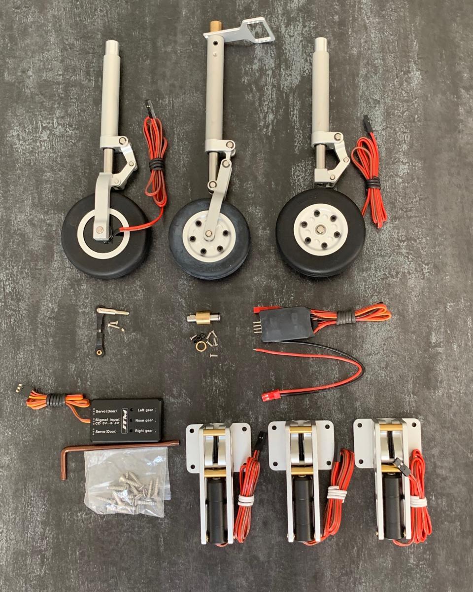 JTM Elektrisches Fahrwerk-Set für 1.7 Viper / XXX Sport Jet
