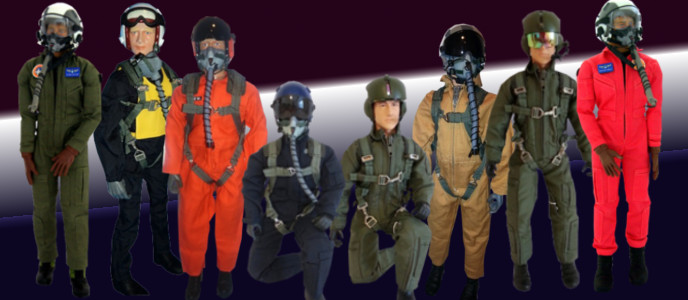 Piloten-Figuren