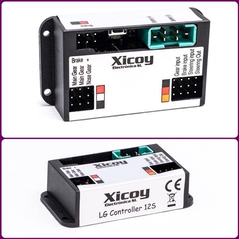 Kontroller für elektr. Fahrwerke LGC12